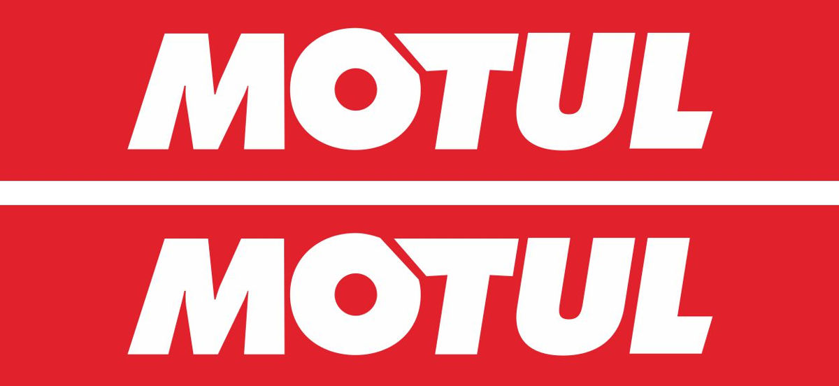 Наклейка логотип MOTUL-RED