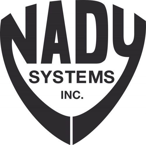 Наклейка логотип NADY-SYSTEMS