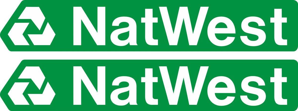 Наклейка логотип NATWEST