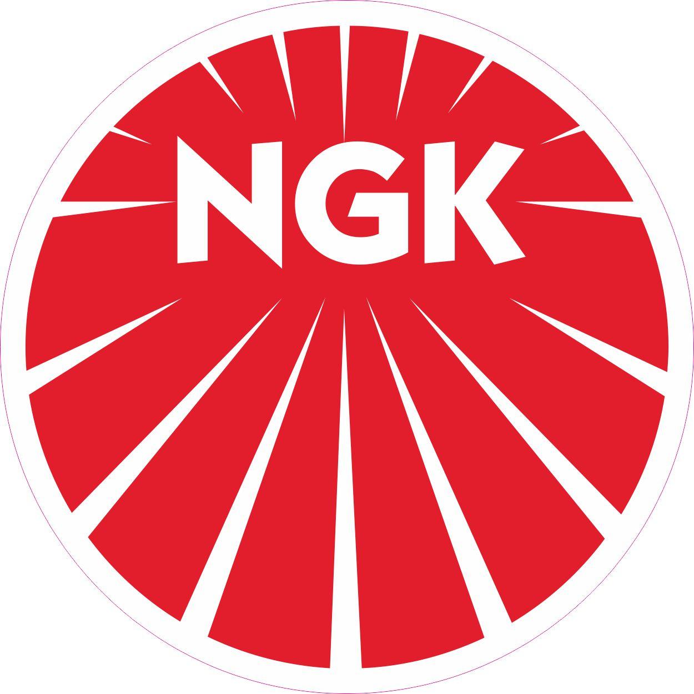 Наклейка логотип NGK