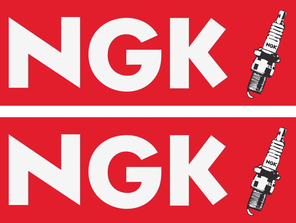 Наклейка логотип NGK_1