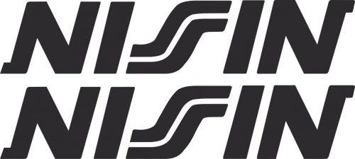 Наклейка логотип NISIN