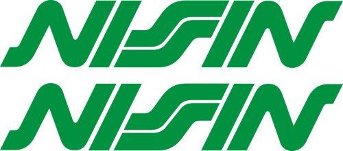 Наклейка логотип NISSIN-2