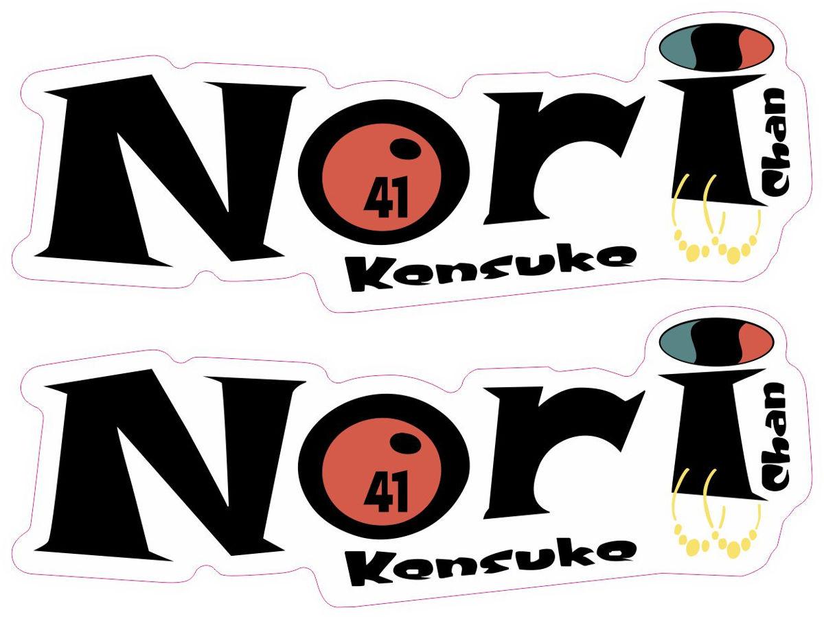 Наклейка логотип NORI2