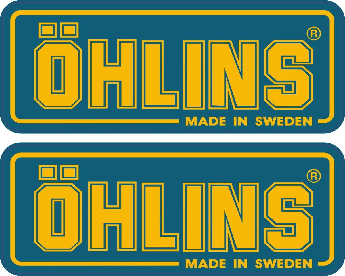 Наклейка логотип OHLINS