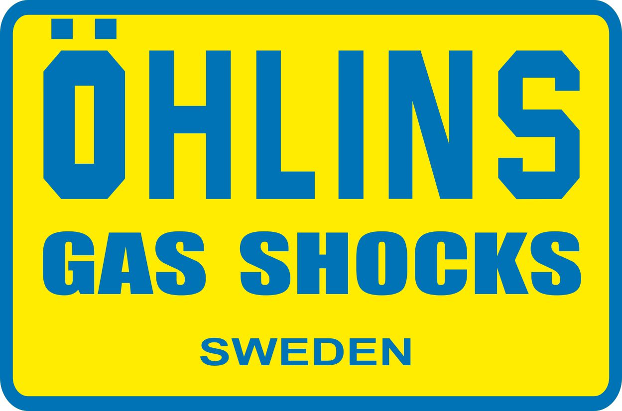 Наклейка логотип OHLINS-GAS-SHOCKS