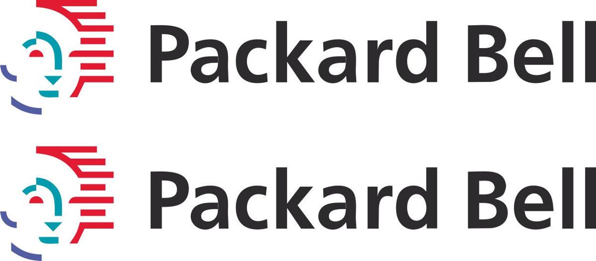 Наклейка логотип PACKARD-BELL