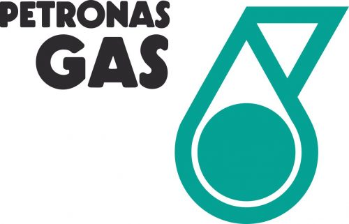 Наклейка логотип PETRONAS-GAS