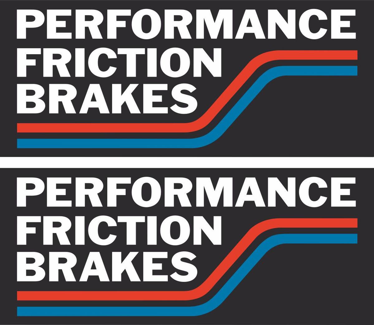 Наклейка логотип PFBRAKES