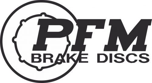 Наклейка логотип PFM-BRAKE-DISCS