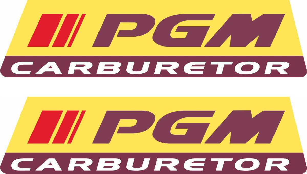Наклейка логотип PGM