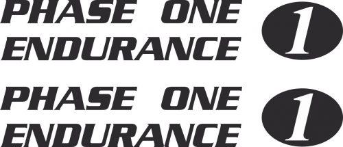 Наклейка логотип PHASE1