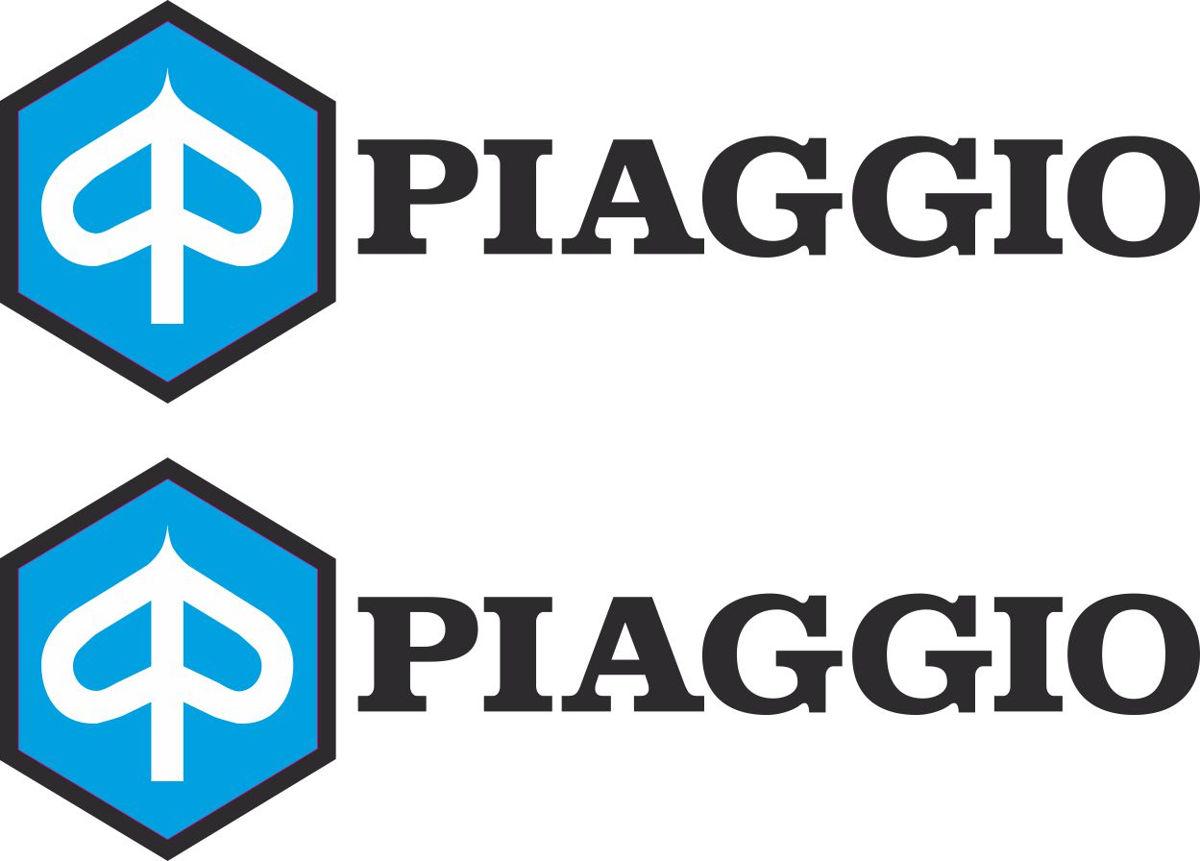Наклейка логотип PIAGGIO