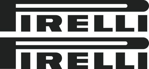 Наклейка логотип PIRELLI-WIDE