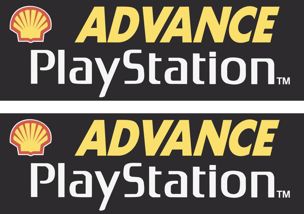 Наклейка логотип PLAYSTATION