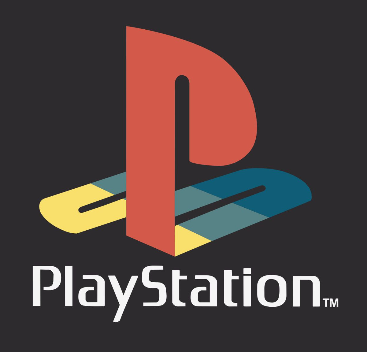 Наклейка логотип PLAYSTATION-2