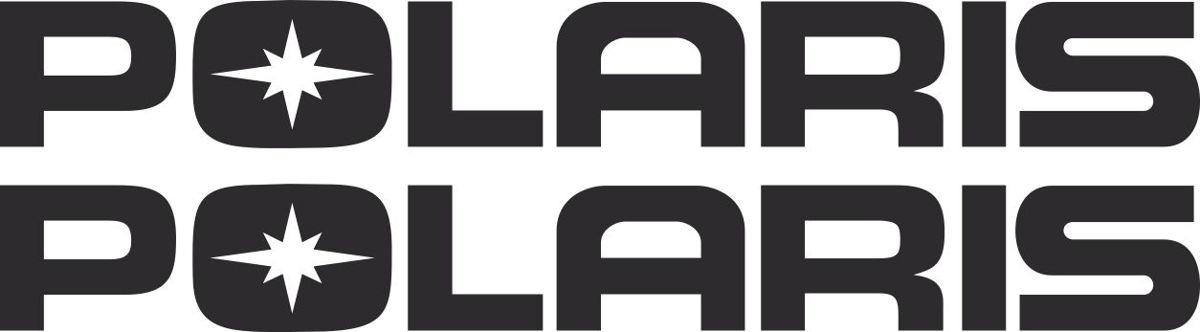 Наклейка логотип POLARIS