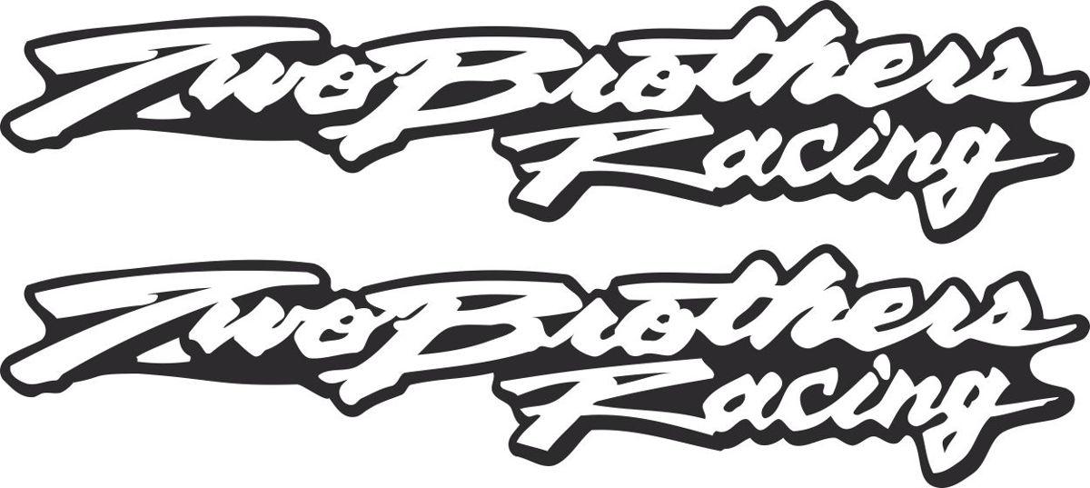 Наклейка логотип POWER-BROTHERS-RACING