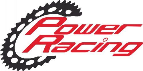 Наклейка логотип POWER-RACING