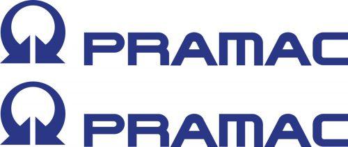 Наклейка логотип PRAMAC