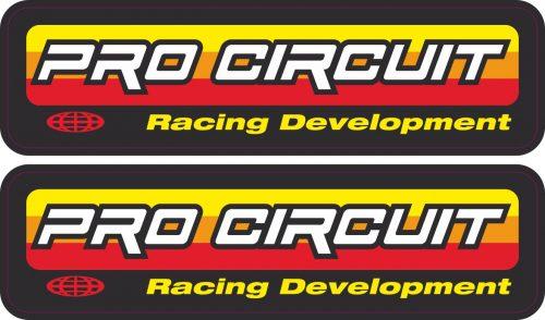 Наклейка логотип PRO-CIRCUIT