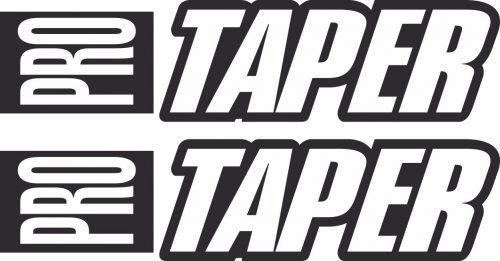 Наклейка логотип PRO-TAPER-BLACK