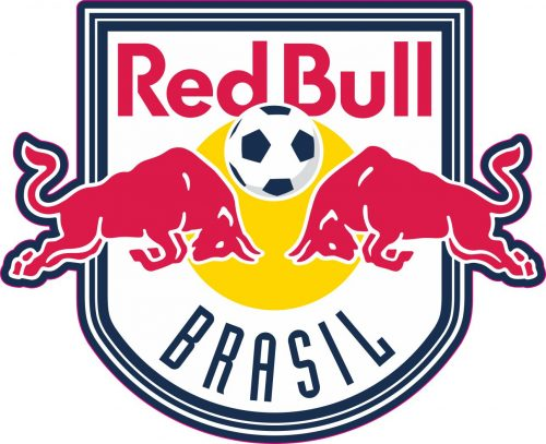 Наклейка логотип RED-BULL-BRASIL