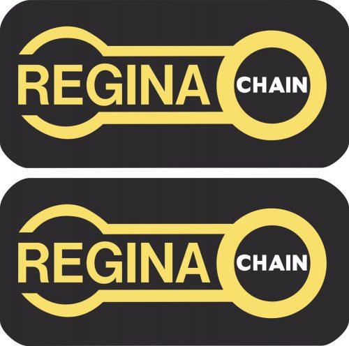 Наклейка логотип REGINA-CHAIN