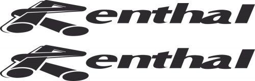 Наклейка логотип RENTHAL-SIMPLE