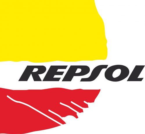 Наклейка логотип REPSOL-2
