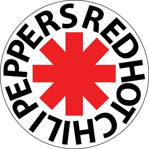 Наклейка логотип RHCP