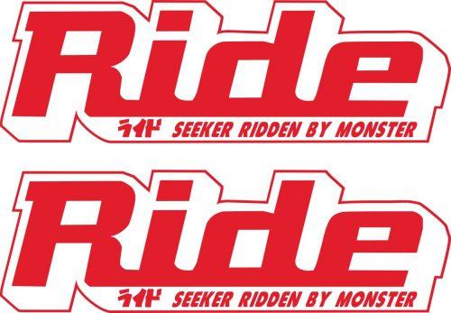 Наклейка логотип RIDE