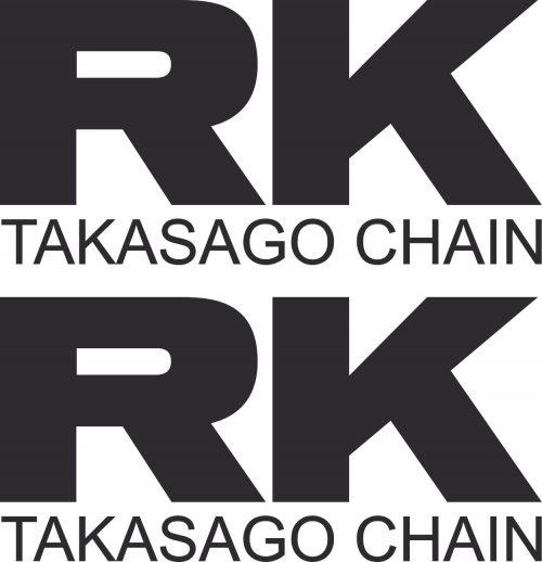 Наклейка логотип RK