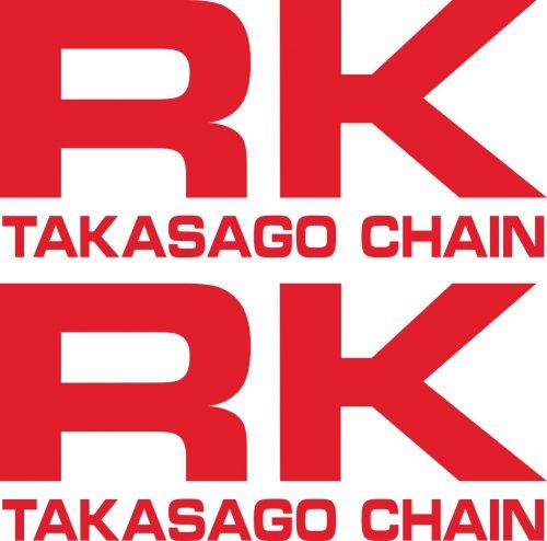 Наклейка логотип RK_1