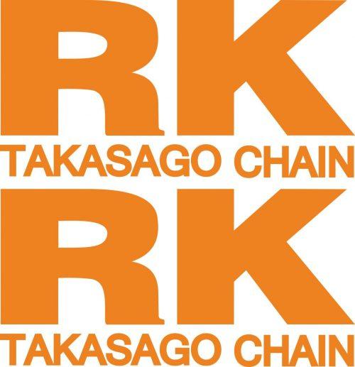 Наклейка логотип RK-ORANGE