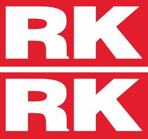Наклейка логотип RK-RED