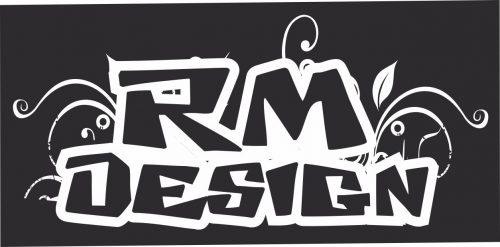 Наклейка логотип RM-DESIGN