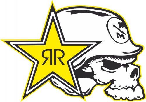 Наклейка логотип ROCKSTAR