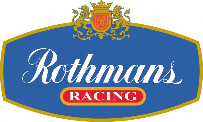 Наклейка логотип ROTHMANS-RACING