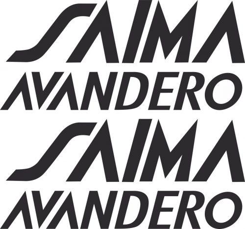 Наклейка логотип SAIMA-AVANDERO