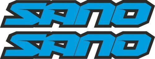 Наклейка логотип SANO