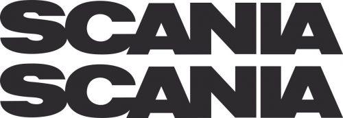 Наклейка логотип SCANIA