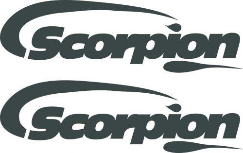Наклейка логотип SCORPION