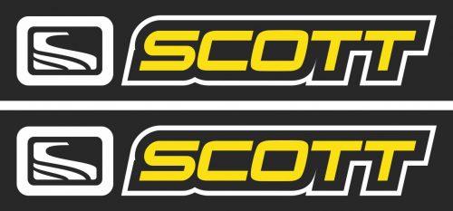 Наклейка логотип SCOTT
