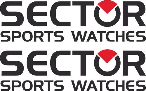 Наклейка логотип SECTOR
