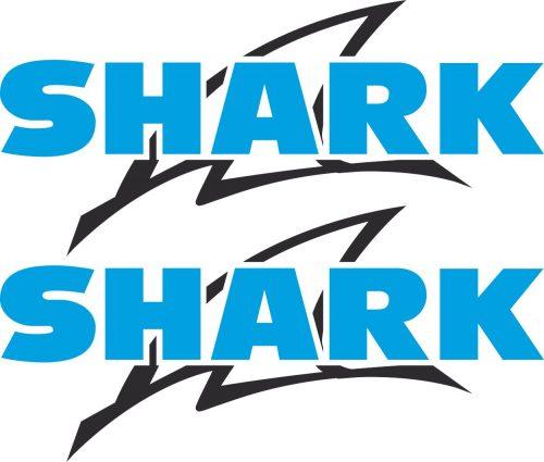 Наклейка логотип SHARK