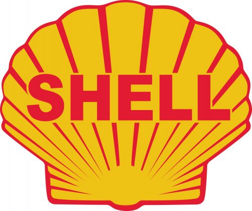 Наклейка логотип SHELL-2