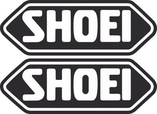 Наклейка логотип SHOEI-BLACK