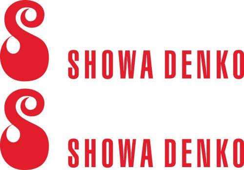 Наклейка логотип SHOWA-DENKO