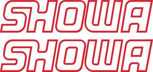 Наклейка логотип SHOWA-RED